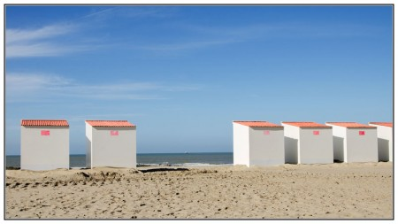 strandcabines Nieuwpoort